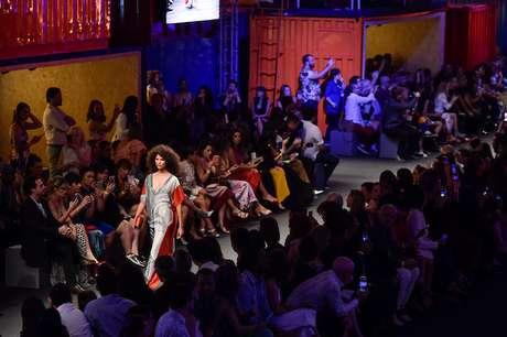 Desfile de abertura Minas Trend (Foto: Danilo Grimaldi/Agencia Fotosite)