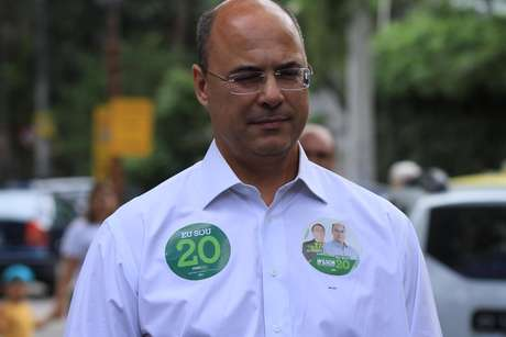 O novo governador do RJ, Wilson Witzel