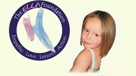 Charity criou uma Fundação usando as letras do nome da filha - ELLA - como iniciais das palavras empatia, amor, lições e ação, em inglês