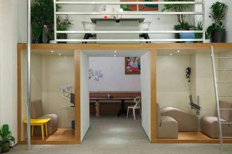 42. Projeto de uma casa pequena com espaço planejado