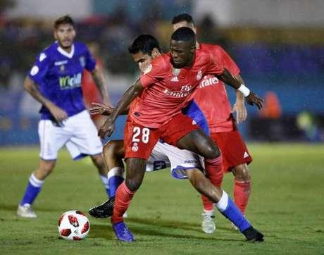 Vinicius jogou os noventa minutos nesta quarta (Foto: Divulgação)