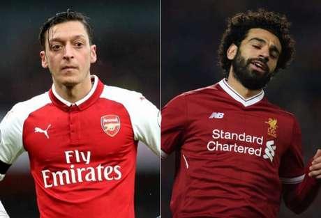 Özil e Salah são alguns dos destaques (Foto: Reprodução/Divulgação)