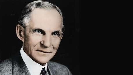 Henry Ford (1863-1947) revolucionou a indústria automotiva