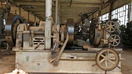 """O maquinário usado era """"Made in USA"""""""