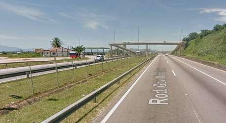 Tenente foi morto em trecho da BR-101 na altura de São Gonçalo, no Rio