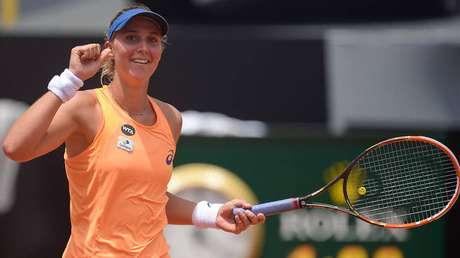 Bia Haddad perdeu para tenista da casa na decisão do título