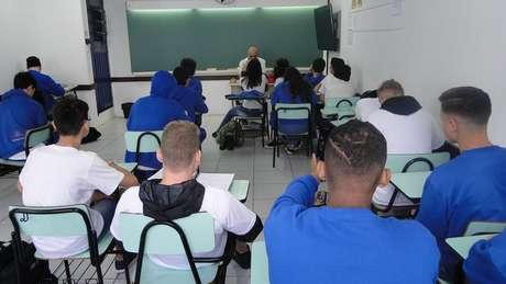 Sala do colégio Antônio Peixoto, em Florianópolis, que adotou os princípios do Escola Sem Partido