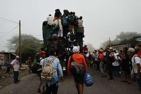 Segundo migrantes, sua recepção no país teve um toque mais humanitário