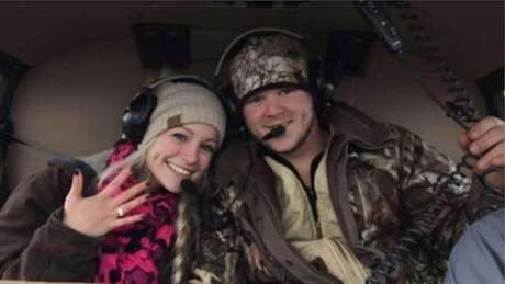 Casal morreu quando deixava o casamento a bordo de um helicóptero