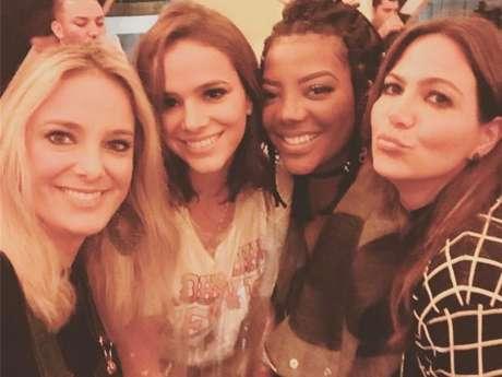 Ticiane Pinheiro disse que o maior porre que teve foi com Bruna Marquezine, Ludmilla e Carol Sampaio no Lollapalooza do ano passado