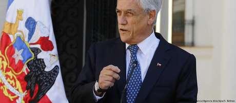 """""""Quando o povo tem a oportunidade, rejeita o socialismo do século 21 e elege uma opção com mais liberdade"""", disse Piñera"""