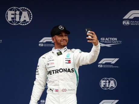Lewis Hamilton é o homem a ser batido na F1