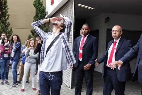Estudante chega atrasado a local de prova em São Paulo e é impedido de entrar
