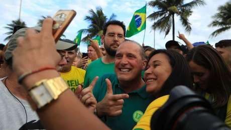 Lorenzoni já foi companheiro de bancada de Bolsonaro