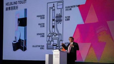 A fundação de Gates já gastou mais de 200 milhões de dólares em pesquisas sobre tecnologias sanitárias
