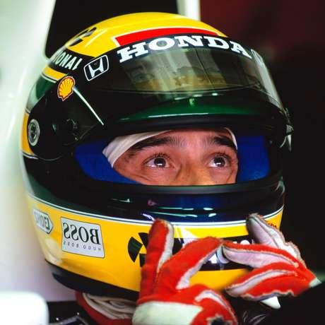 Ayrton Senna marcou três pole positions em Interlagos