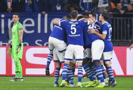 Schalke 04 superou Galatasaray por 2 a 0 na Liga dos Campeões (Foto: AFP)
