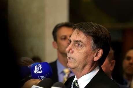 O presidente eleito, Jair Bolsonaro