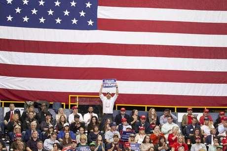Comício de Donald Trump no Tennessee
