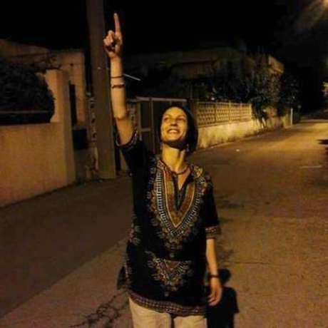 italiana Simona Carpignano, originária de Taranto,