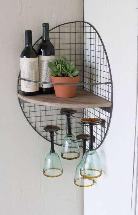 1. O aramado pode ser usado para decorar e organizar diversos ambientes – Foto: Pinterest