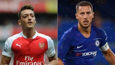 Özil e Hazard são alguns dos destaques (Foto: Divulgação)