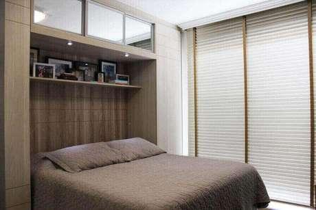 6. Guarda-roupa planejado pode fazer toda a diferença no seu quarto. Projeto de Daarna