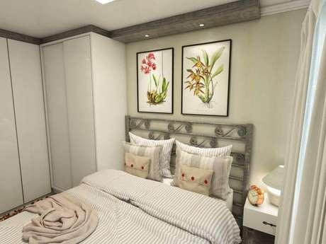 9. Guarda-Roupa planejado é uma forma de otimizar o espaço dos quartos. Projeto de Ednilson Hin