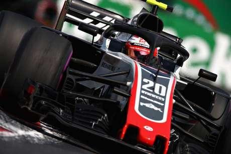 Problemas da Hass no México foram os pneus segundo Magnussen