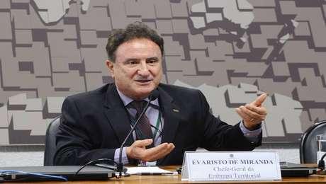 Evaristo de Miranda, pesquisador e chefe-geral da Embrapa Territorial, cotado para o ministério do Meio Ambiente