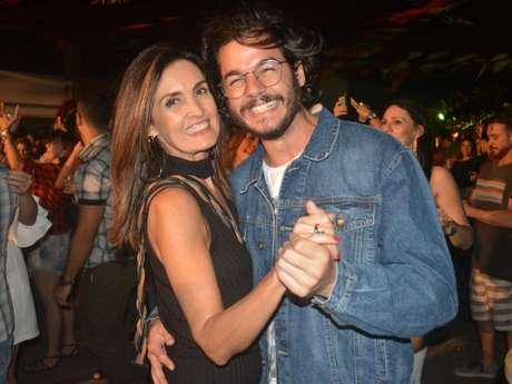 Fátima Bernardes contou a reação dos filhos com o seu relacionamento com Túlio Gadêlha
