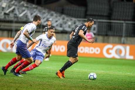 No primeiro turno, o Galo ficou no empate com os baianos- Bruno Cantini / Atlético