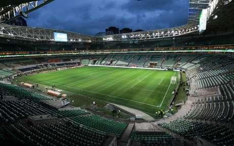 Allianz Parque receberá o jogo contra o Fluminense na quarta-feira que vem (Foto: Ricardo Moreira/Fotoarena)