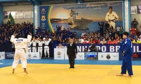 É campeão! Brasil leva ouro feminino e masculino no Mundial Militar de judô (Foto: CBJ)