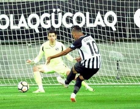 Dário Júnior tem três gols no campeonato nacional do Azerbaijão (Foto: Divulgação)
