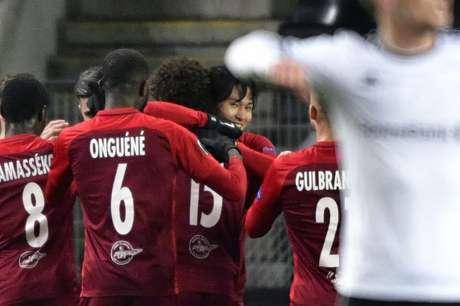 Minamino foi o craque do jogo com três gols (Foto: AFP)