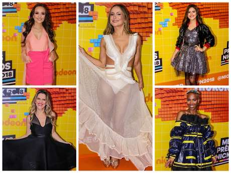 Famosas no 'Meus Prêmios Nick' (Fotos: Thiago Duran/AgNews)