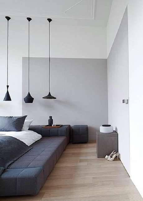 44. Mescle modelos diferentes de luminárias de teto para trazer ainda mais charme e modernidade para a decoração – Foto: Pinterest