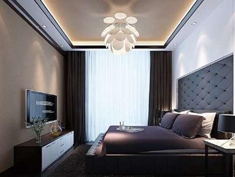 32.Design moderno de luminária de teto para quarto