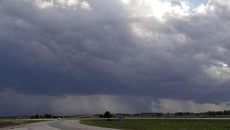 De acordo com os especialistas, as tempestades que ocorrem no centro norte da Argentina são únicas
