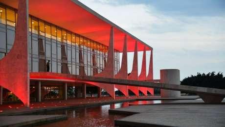 O palácio do Planalto, onde Bolsonaro despachará a partir de 1º de janeiro de 2019