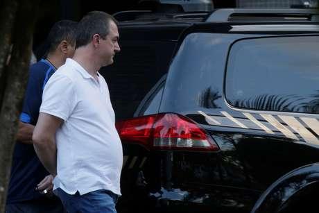Empresário Joesley Batista deixa sede da Polícia Federal em Brasília, 11/09/2017. REUTERS/Ueslei Marcelino