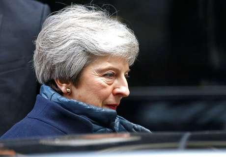 Premiê britânica, Theresa May, em Londres 29/10/2018 REUTERS/Henry Nicholls