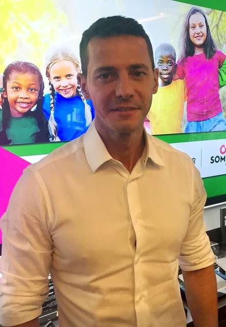 Rodrigo Galindo, diretor-presidente da Kroton Educacional SA, posa para fotografia após uma coletiva de imprensa em São Paulo 15/10/2018.  REUTERS/Gabriela Mello