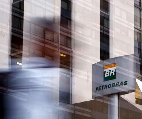 Logo da Petrobras em São Paulo, Brasil 23/04/2015 REUTERS/Paulo Whitaker