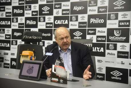 José Carlos Peres é quem comandará o planejamento do Santos para a próxima temporada (Foto: Ivan Storti/Santos)