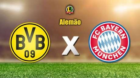 Borussia Dortmund defende invencibilidade no Alemão diante do rival Bayern de Munique