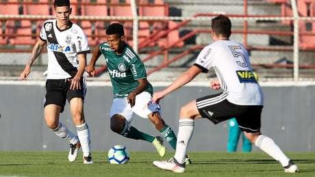 Palmeiras venceu a ida por 4 a 1 e administrou a vantagem (Foto: Ag. Palmeiras)