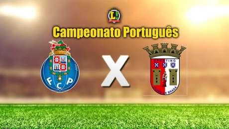 Em jogo que vale a liderança do Português, Porto recebe o Braga (Foto: Divulgação)