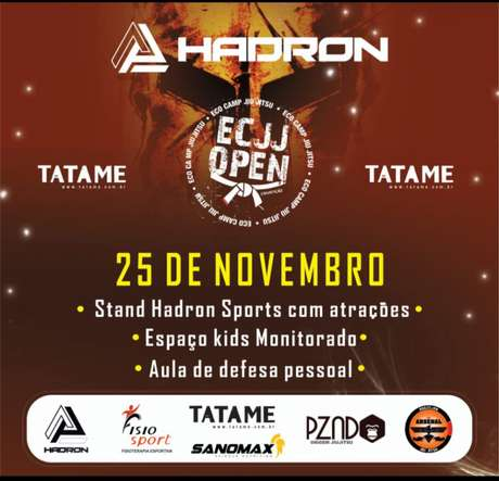 Eco Camp Jiu-Jitsu Open vai ser atração em Mogi das Cruzes, em São Paulo, neste mês de novembro (Foto: Divulgação)